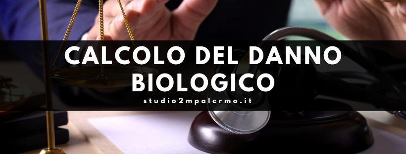 calcolo del danno biologico - studio 2m palermo